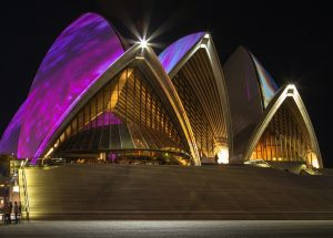 Sydney Opera Transforms To A Spectacular Live Motion Picture